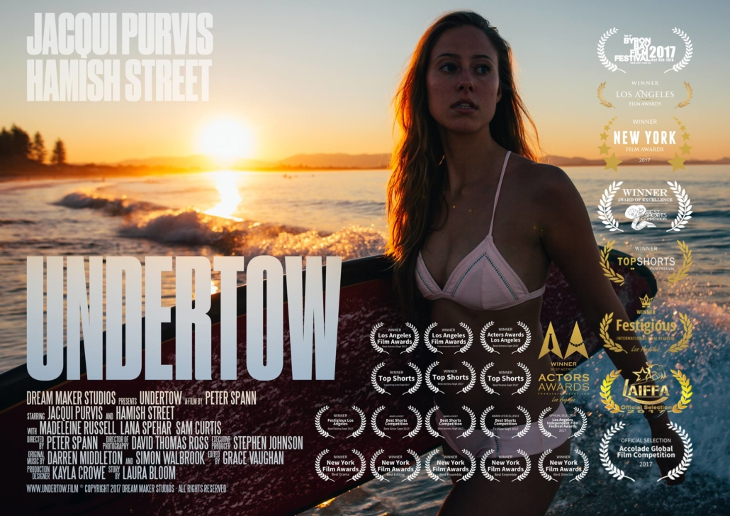 Undertow Poster - Peter Spann Director